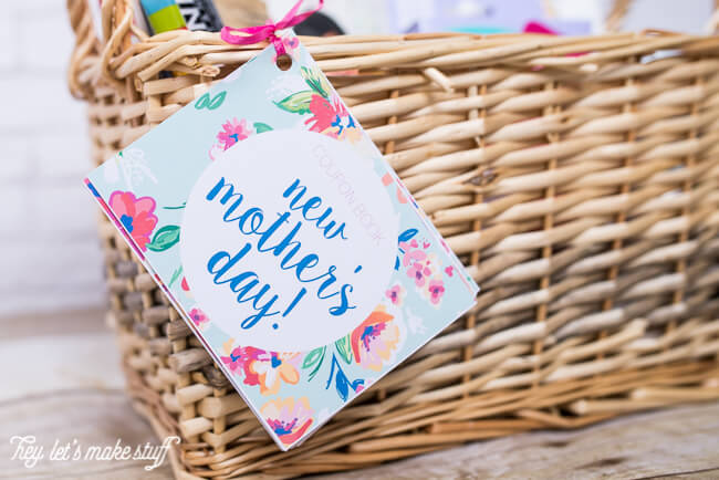 printable coupon that you can include in a gift basket for a new mom