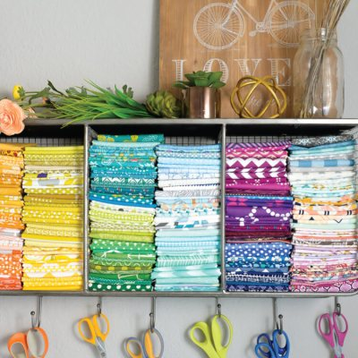 Bright and Beautiful Sewing Corner