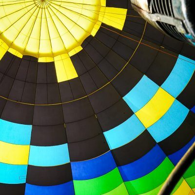 Flying in a Hot Air Balloon When You're Afraid of Heights
