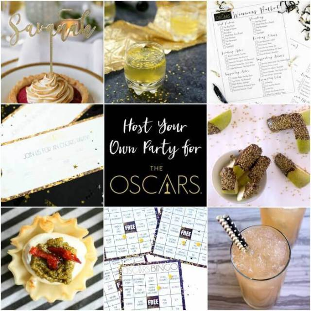 Everything you need to throw an amazing Oscars party!