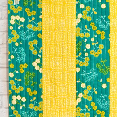 Learn Quilt-As-You-Go: Easy Big Stripes Panel