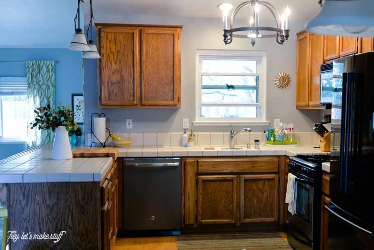 "2016 Kitchen Renovation ""Before"" photos."