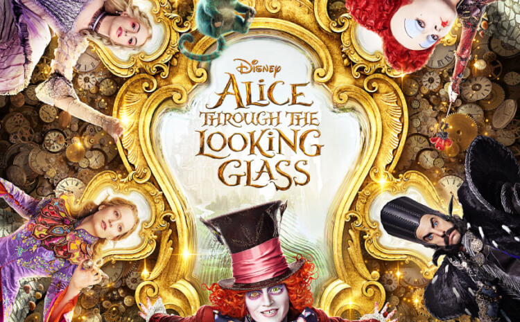 """Download these printable """"Alice Through the Looking Glass"""" quotes for your home! Alice in Wonderland 