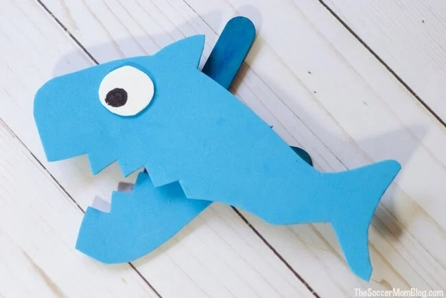 Shark Week: Shark Crafts