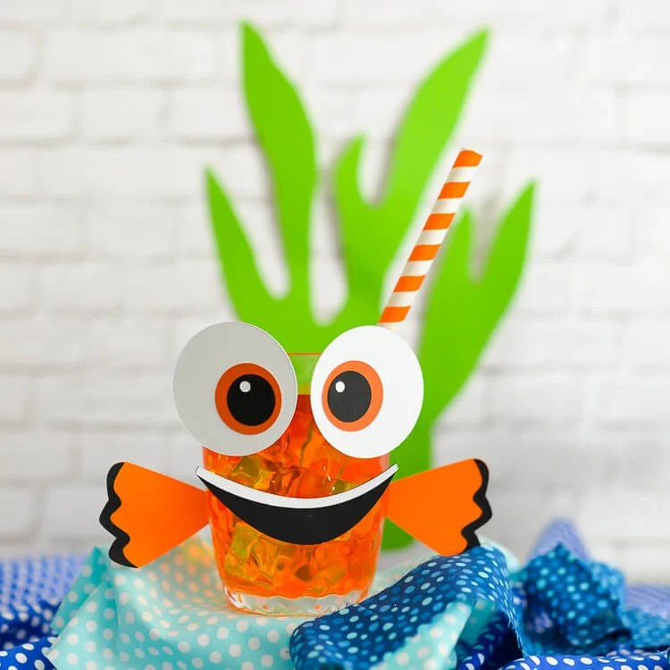 Nemo themed party cups