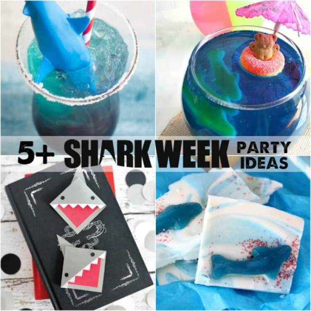 Fun ideas for SHARK WEEK!