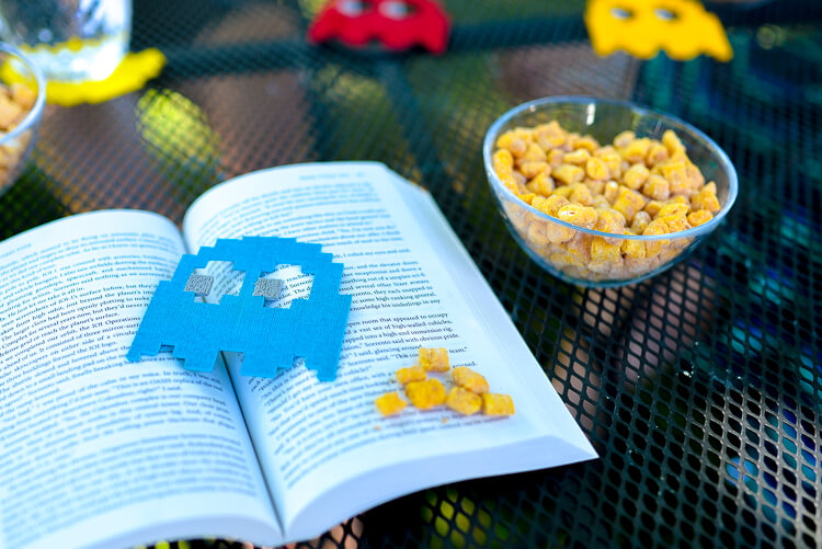 Grab your fellow geeks, hop in your Delorean, and get ready to head to the 80s with this fun Ready Player One book club!