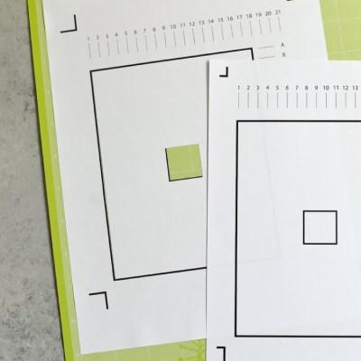 Troubleshooting Cricut's Print then Cut Calibration