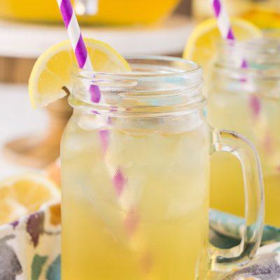 Southern Peach Radler Beer Cocktail
