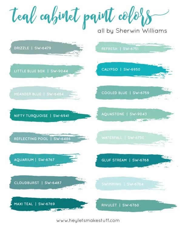 teal-cabinet-paint-colors-sw