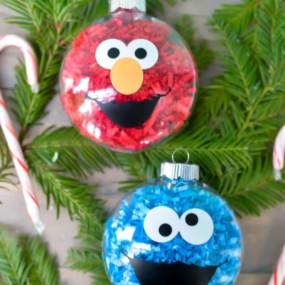 DIY Sesame Street Ornaments