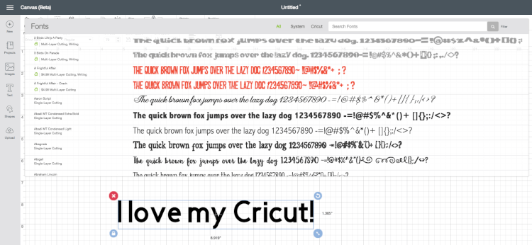 The NEW Cricut Design Space v3 - My Favorite New Features