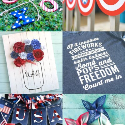 4th of July Cut Files for Cricut or Silhouette