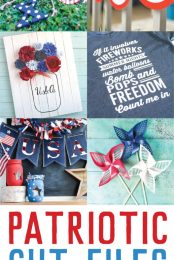 patriotic cut files pin collage