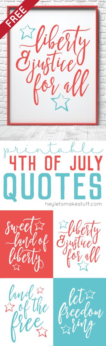Free fourth of july stuff