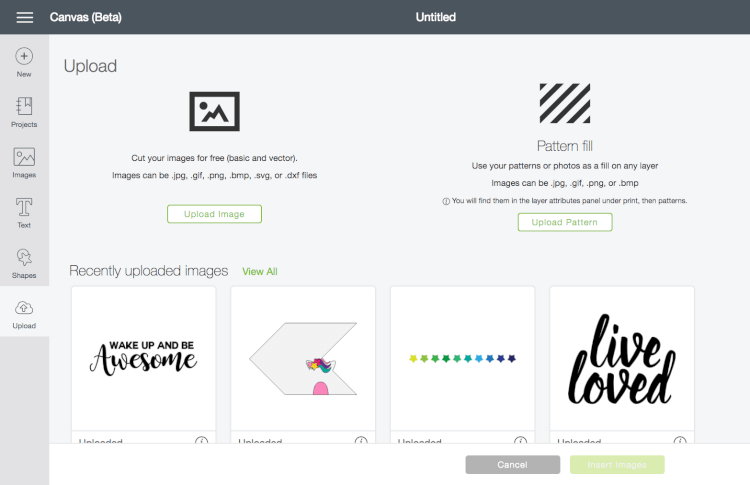 Upload the file to the Cricut Design Space - These are great tips and tricks for using the Cricut Design Space or Illustrator to convert your doodles, writing, and other hand-drawn images into an SVG that you can cut on the Cricut Explore!