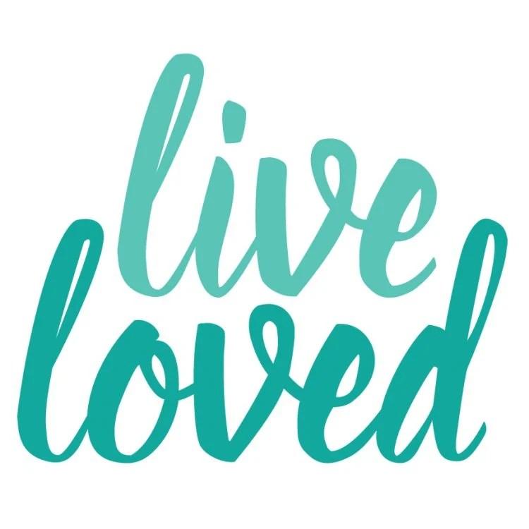live loved font in Illustrator