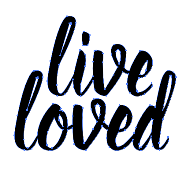 Outline Fonts - Adobe Illustrator - Learn the basics for creating a simple SVG cut file in Illustrator that can then be cut using a Cricut Explore or Silhouette Cameo.