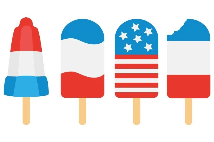 patriotic popsicle files