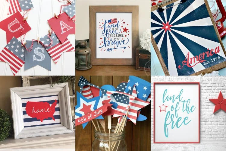 image about Free Printable Patriotic Invitations named Patriotic Printables: Decor and Occasion Tips - Hey, Enables