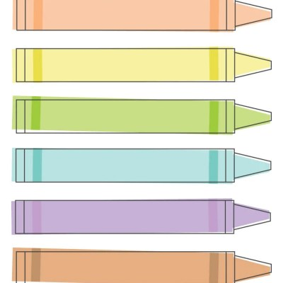 Crayon Clip Art – Freebie Friday