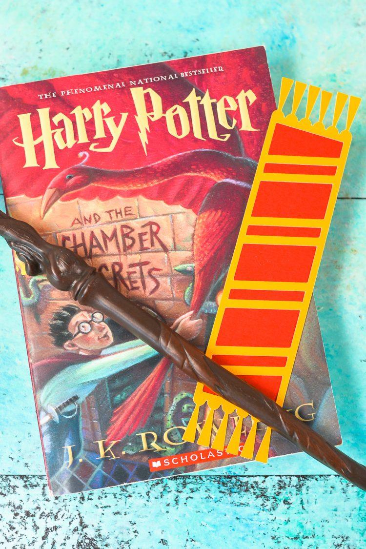 Hogwarts house bookmarks