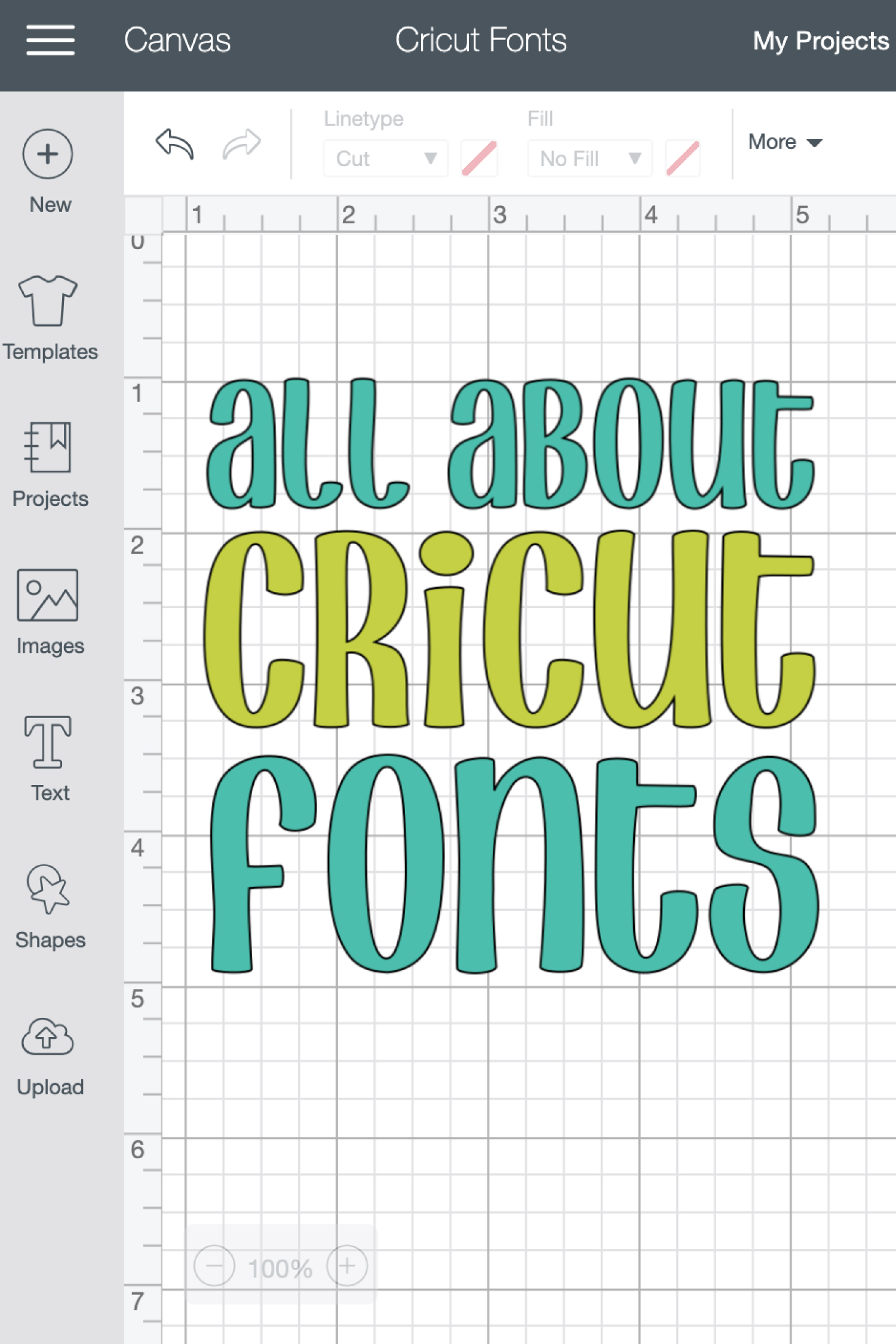 All About Cricut Design Space Fonts - Hey, Let's Make Stuff