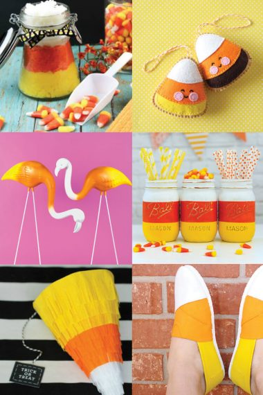 If you have a Halloween sweet tooth, you're going to love these candy corn crafts! I've rounded up a ton of delicious candy corn ideas for you to celebrate the Halloween!