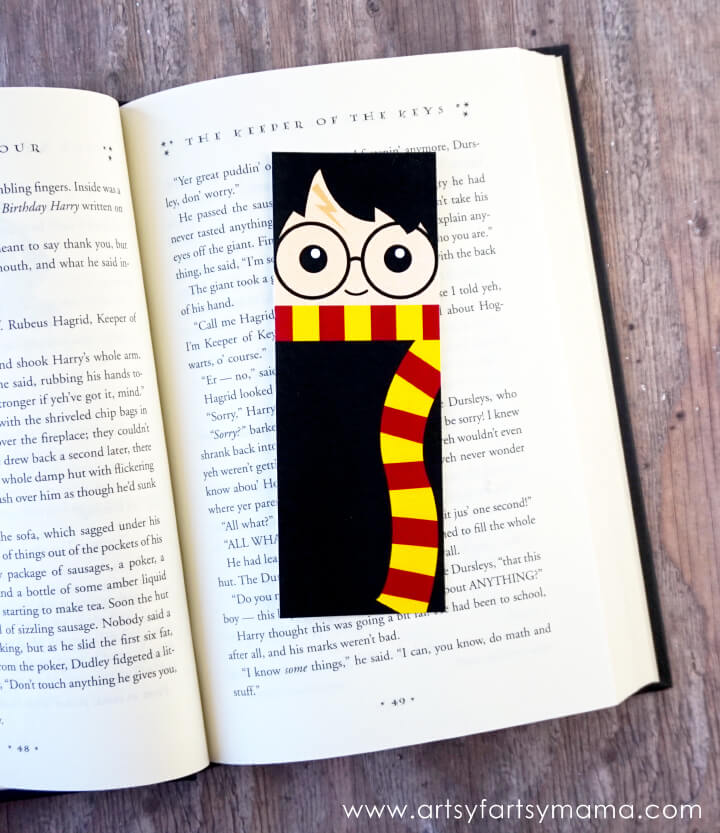 Harry Potter Bookmarks - Artsy Fartsy Mama