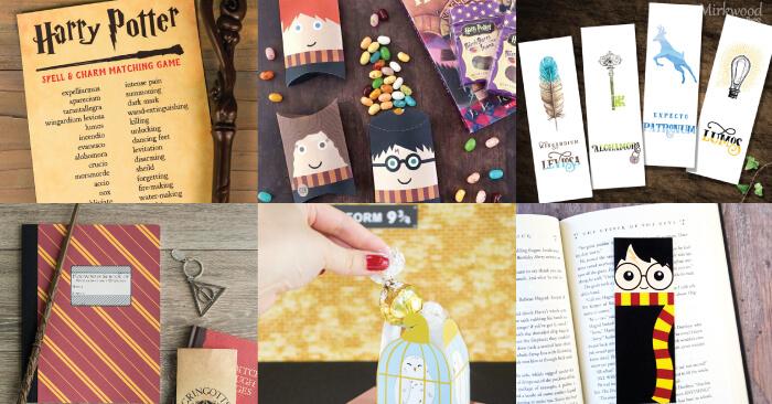 photograph about Harry Potter Printable Bookmarks known as Magical Harry Potter Printables - Online games, Celebration, Decor