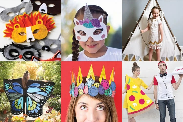 Looking for a way to create an amazing costume? Get out your Cricut and follow one of these Cricut costume tutorials! So many unique and fun costumes made with the Cricut.