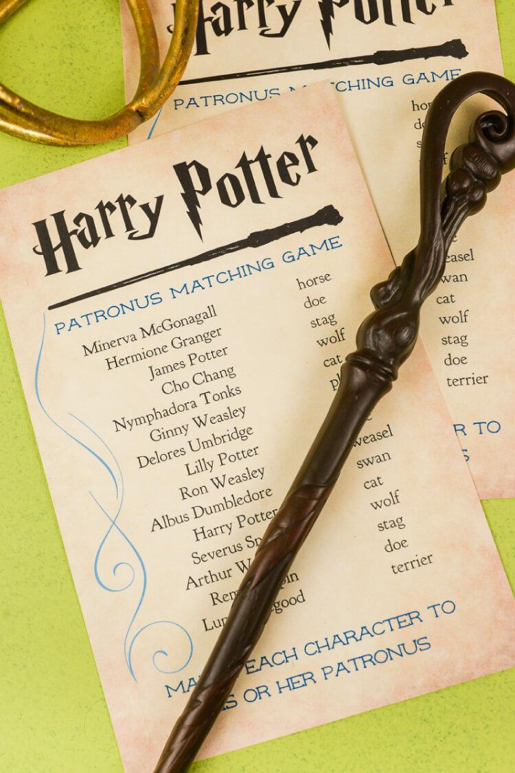 graphic regarding Printable Harry Potter named Magical Harry Potter Printables - Game titles, Bash, Decor