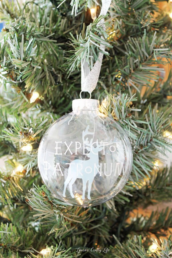 Make your tree shine with these DIY Christmas Ornaments made using the Cricut! So many easy ornament ideas to help you deck your halls—using your Cricut or other electronic cutting machine!