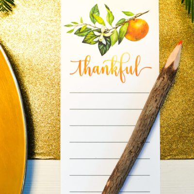 Thanksgiving Table Decor – How to Shop Your Yard