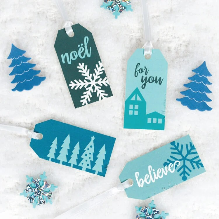 graphic relating to Printable Gift Wraps titled 5 Winter season Reward Wrap Suggestions + Free of charge Printable Present Tags - Hey