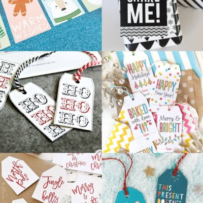 30+ Free Printable Gift Tags for Christmas