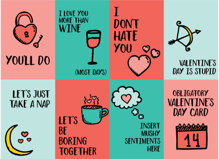 picture regarding Funny Printable Valentines identified as Truthful Printable Valentines - Hey, Allows Crank out Things