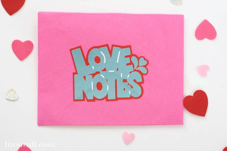 Love Notes SVG