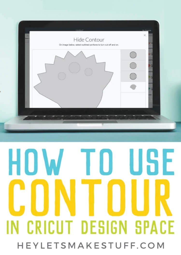 Using Contour in Cricut Design Space makes it possible to hide different portions of a single image so you can customize Cricut Images even more! Here's how to use this feature, and a few tips and tricks for making the most of the Contour tool. via @heyletsmakestuf