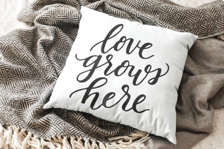 Download Love Grows Here SVG - Flash Freebie - Hey, Let's Make Stuff