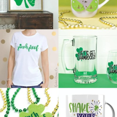 15 Lucky + Free SVGs for St. Patrick's Day