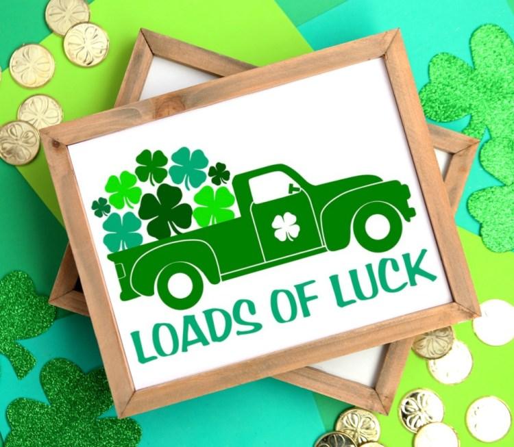loads of luck trucks SVG