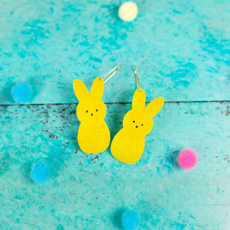 Sport these adorable Peeps Easter Earrings all spring long! Wear them while chomping on their delicious marshmallow counterparts. Yum!