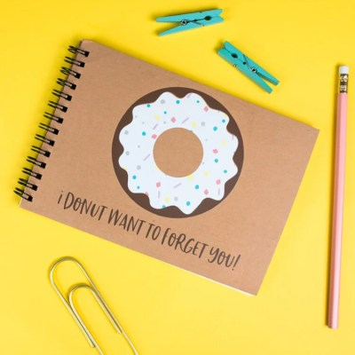 Donut School Autograph Book