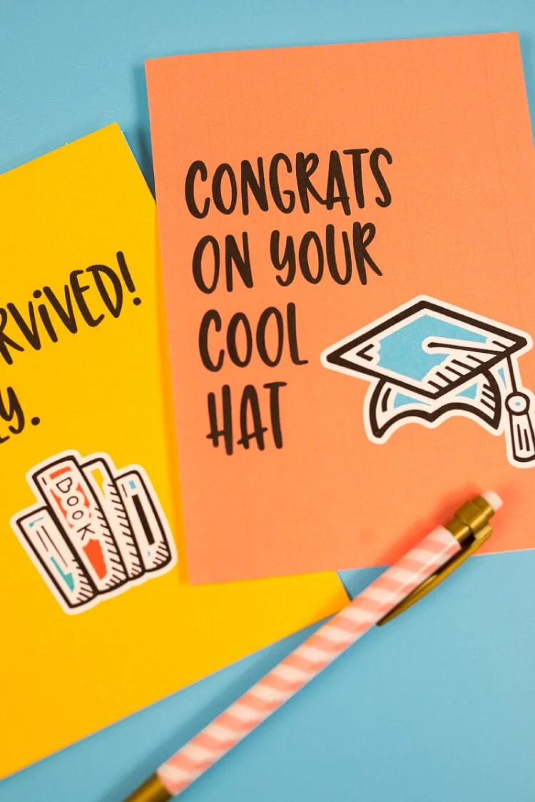 Funny Graduation Cards Eight Free Printable Cards