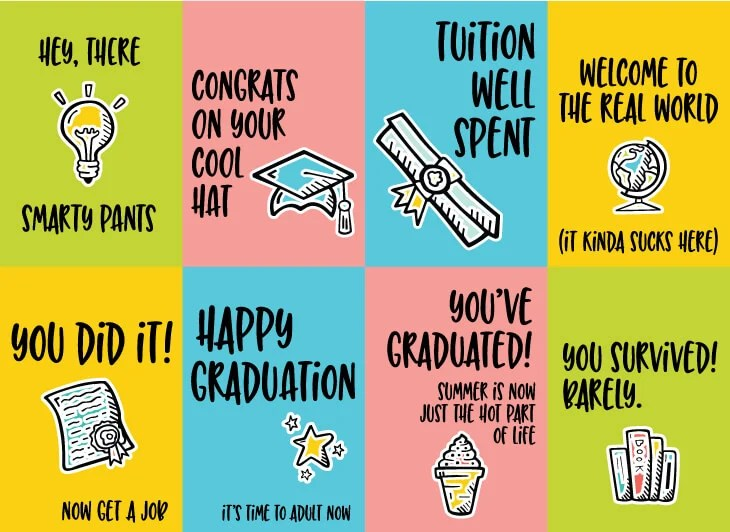 Slobbery image throughout graduation cards printable