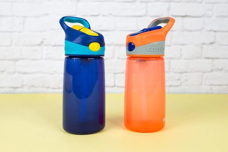 Blank water bottles