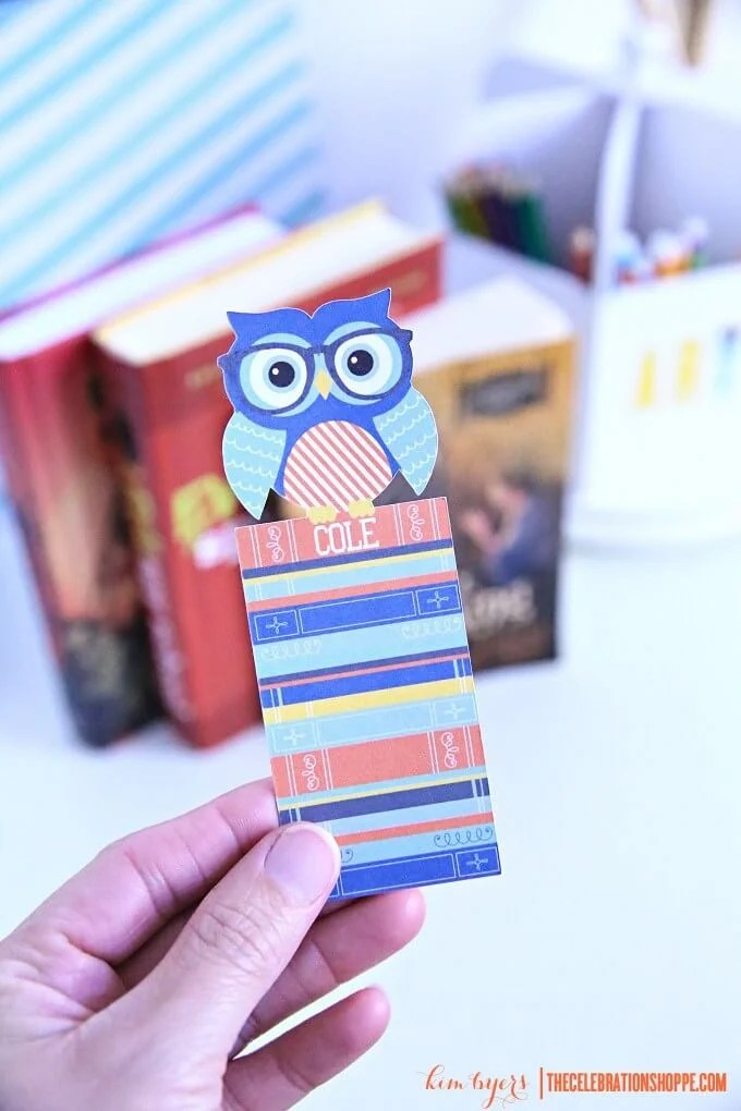 Print then Cut Bookmarks