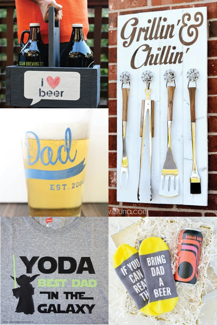 Father S Day Craft Ideas With The Cricut Hey Let S Make Stuff