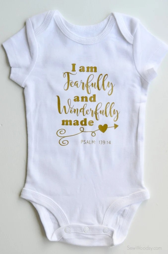 Diy Baby Onesies With The Cricut Hey Let S Make Stuff